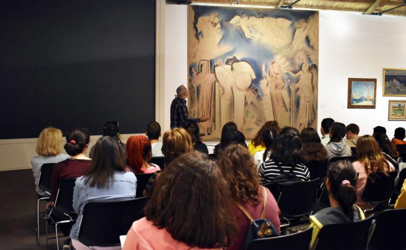 Η ΕΞΕΛΙΞΗ ΖΩΗΣ πραγματοποίησε επίσκεψη στην Εθνική Πινακοθήκη